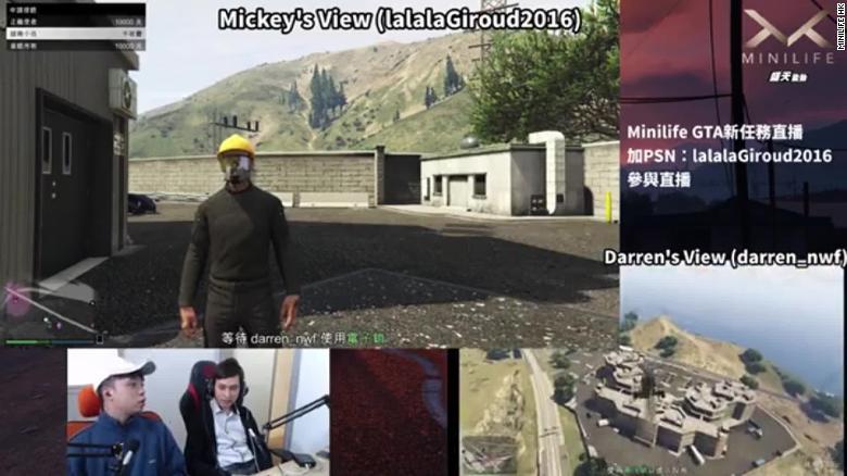 """GTA V Jadi Tempat """"Gelud Online"""" Gamer Hong Kong VS Tiongkok"""