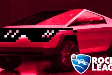 Fans Inginkan Mobil Tesla Cybertruck Ditambahkan Ke Rocket League