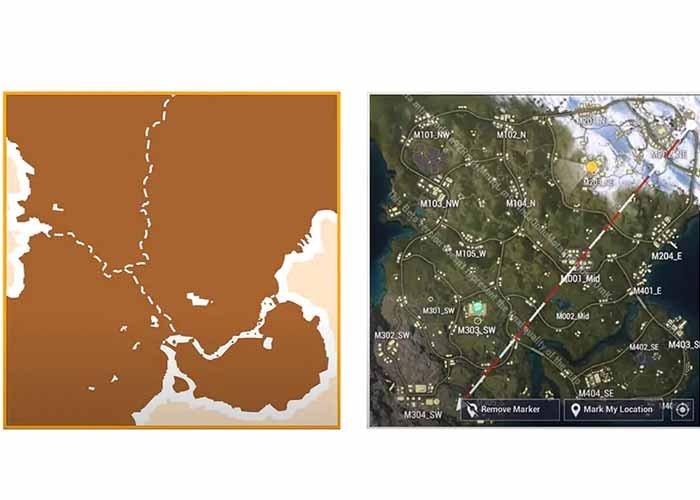 Map Eksklusif Fourex PUBG Mobile Akan Segera Hadir