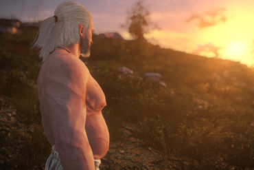 Mod Ini Ubah Tubuh Geralt Jadi Buncit Seperti Bapak - Bapak