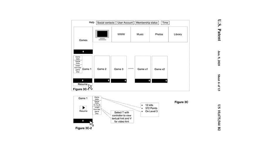 Sony Patenkan Tampilan UI untuk PS5