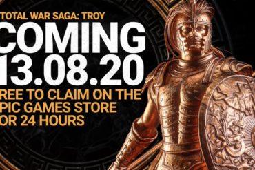 Total War Troy Akan Segera Digratiskan di Epic Games Store Pada 24 Jam Pertama Perilisan