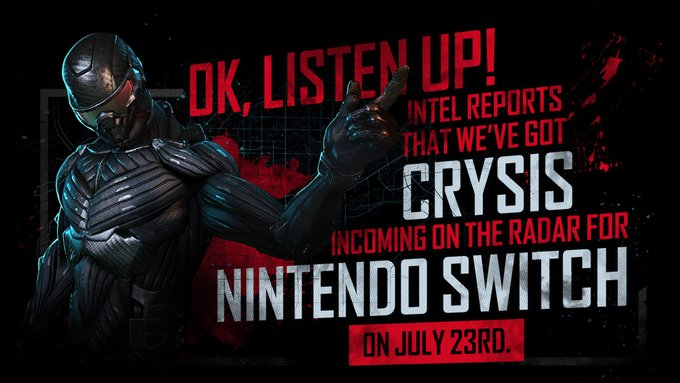Crysis Remastered Akan Tetap Dirilis di Nintendo Switch Pada 23 July 2020