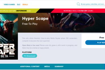 Kini Game Battle Royale Hyper Scape Milik Ubisoft Sudah Dapat Kamu Mainkan Secara Gratis