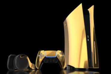 Sebuah Perusahaan Asal Inggris Tawarkan Varian PS5 Berlapis Emas 24 Karat