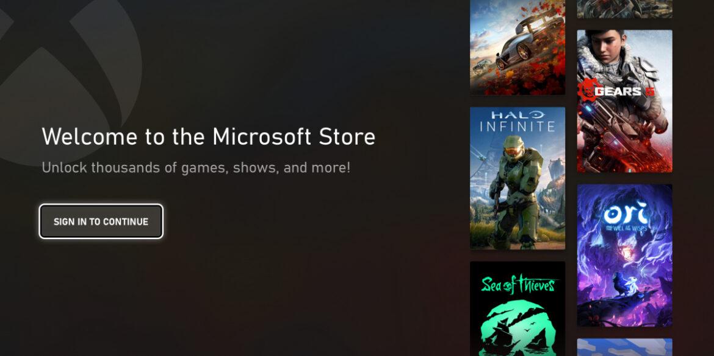 Desain Terbaru Microsoft Store Untuk Xbox Akhirnya Terungkap