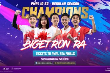 PMPL ID Season 2: Bigetron Kembali ke Puncak