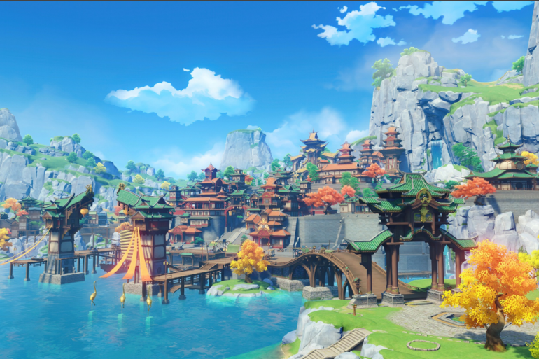 Game Action RPG Open World Genshin Impact Kini Sudah Bisa Kamu Mainkan