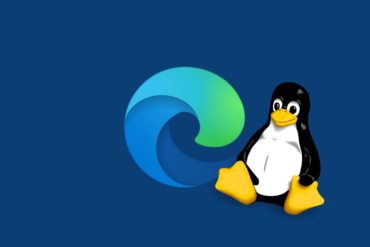 Microsoft Edge Tuju Linux