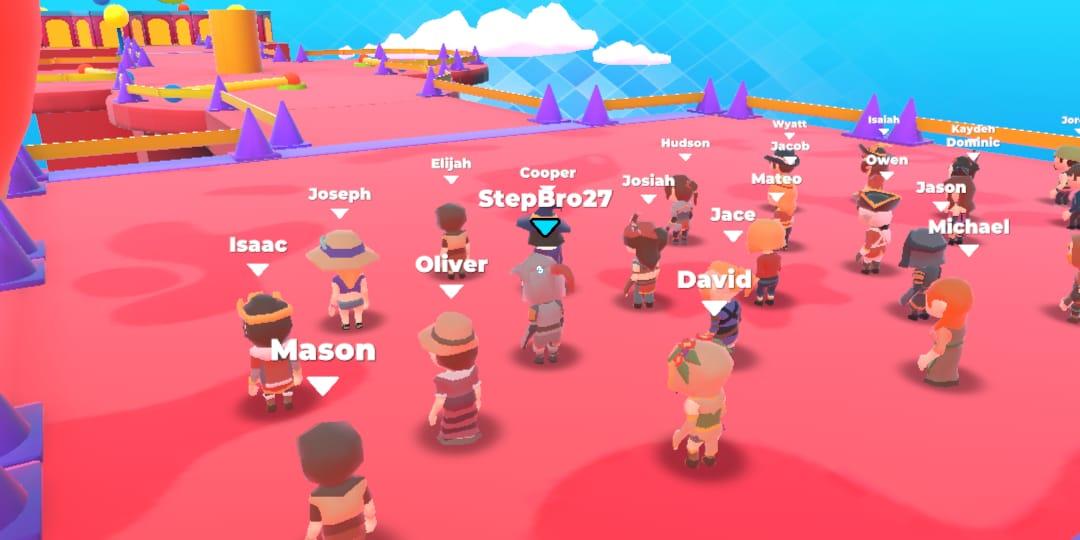 Fall Dudes, Game Versi Tiruan dari Fall Guys di Android