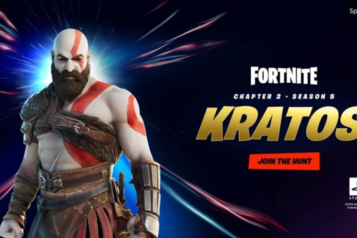 Fortnite Bocorkan Skin Kratos
