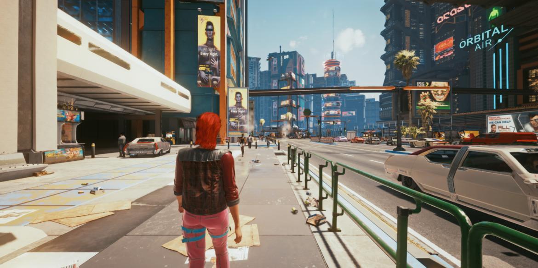 Sebuah Mod Ubah Cyberpunk 2077 Jadi Mode Third Person