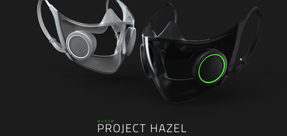 Razer Perkenalkan Project Hazel Berupa Masker Pintar Nan Futuristik