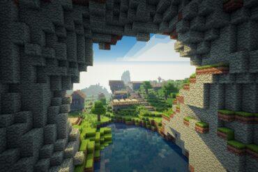 Seorang Modder Minecraft Buat Sebuah Mod Penggali Terowongan Dengan TNT