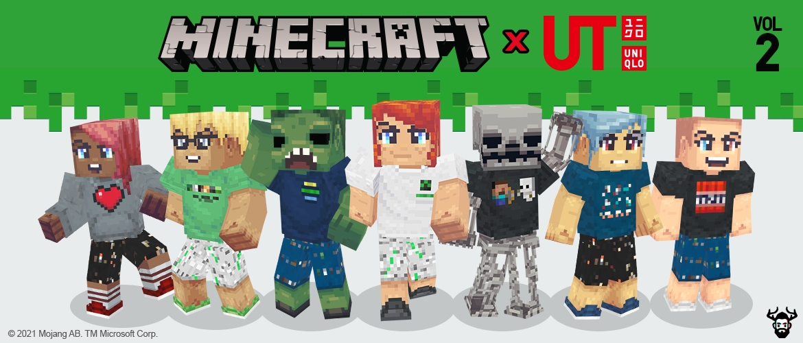 minecraft x uniqlo