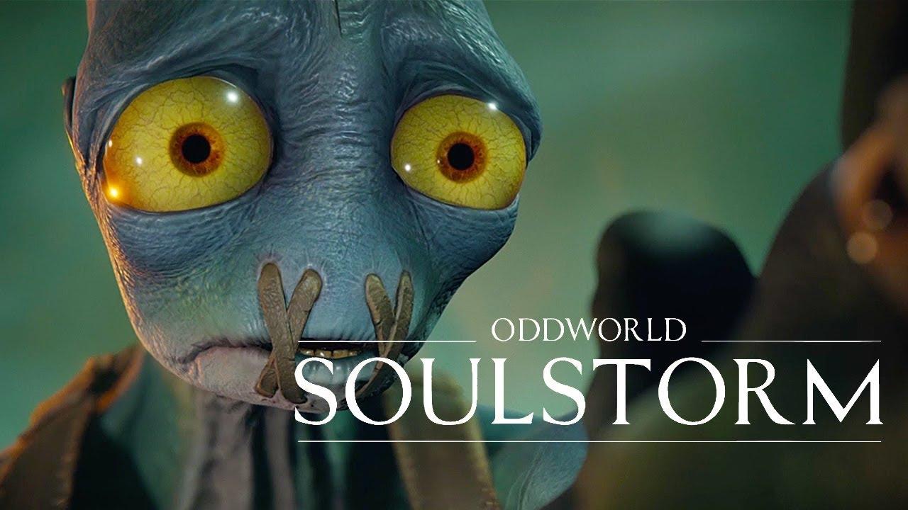 Oddworld Soulstorm - Official PS5 Announcement Trailer - YouTube
