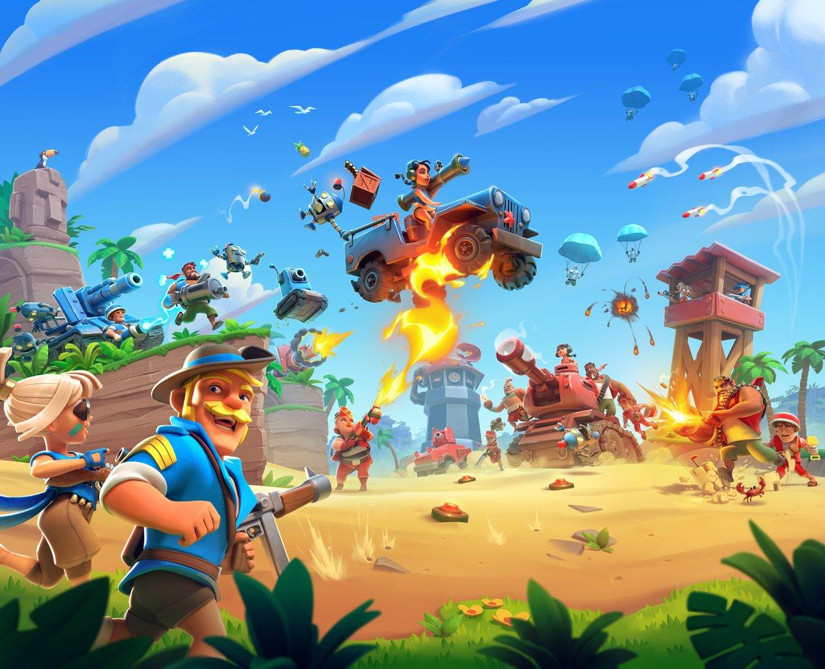 Soft-Launch Game Boom Beach: Frontlines di Android dan iOS