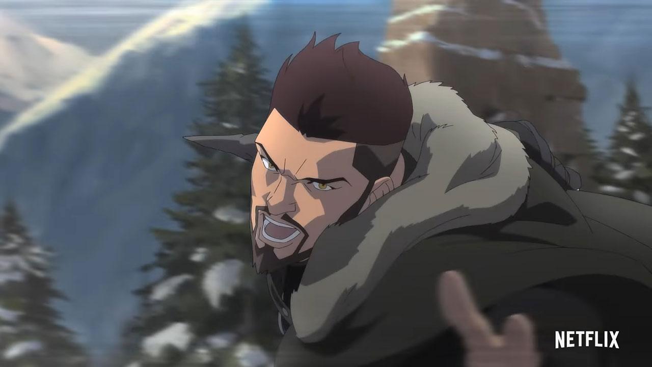 Adaptasi Anime The Witcher Rilis Trailer Baru, Kisahkan Vesemir
